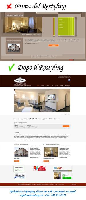 Restyling Siti web e Grafica Web torino