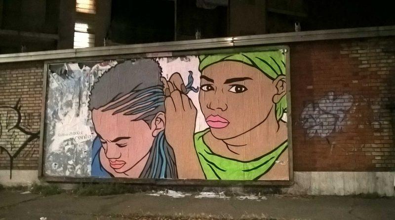 Grafica di strada a Torino