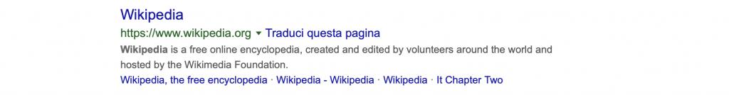 descrizione wikipedia