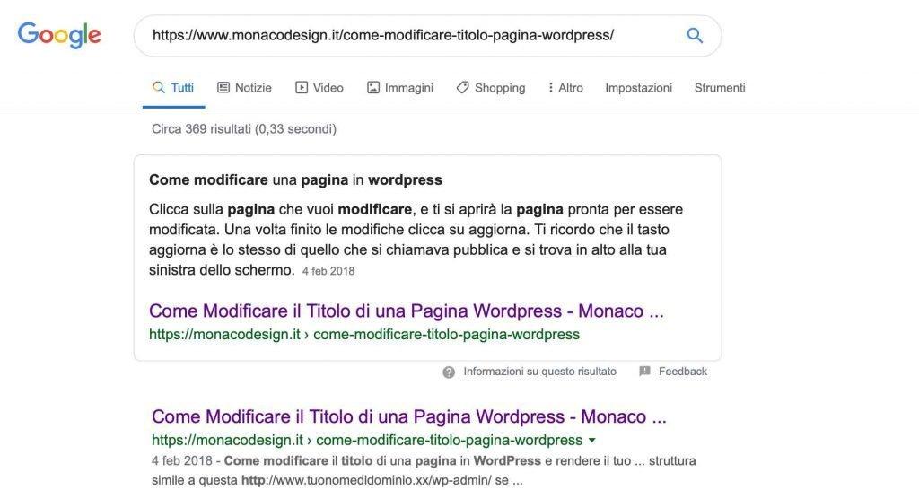 rich snippet WordPress