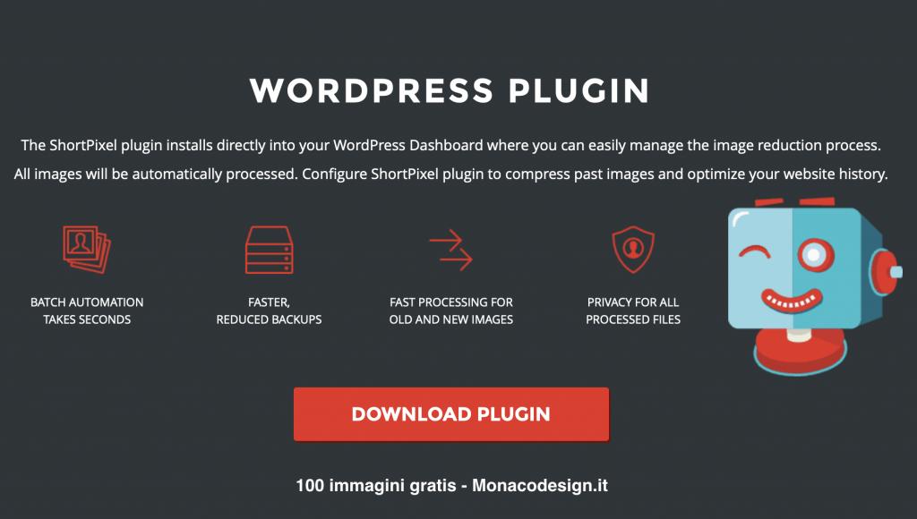 ottimizzare le immagini plugin WordPress