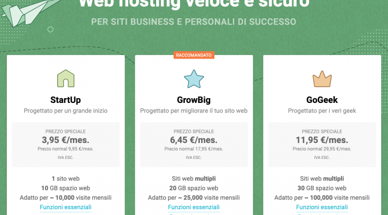 hosting WordPress veloce