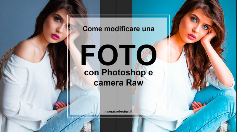Come modificare una foto con photoshop