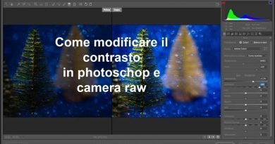 Modificare il contrasto photoshop