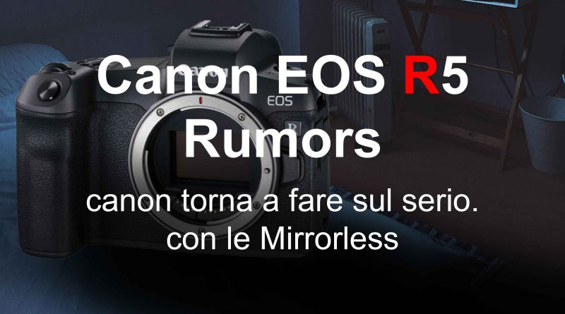 Canon Mirrorless full frame R5