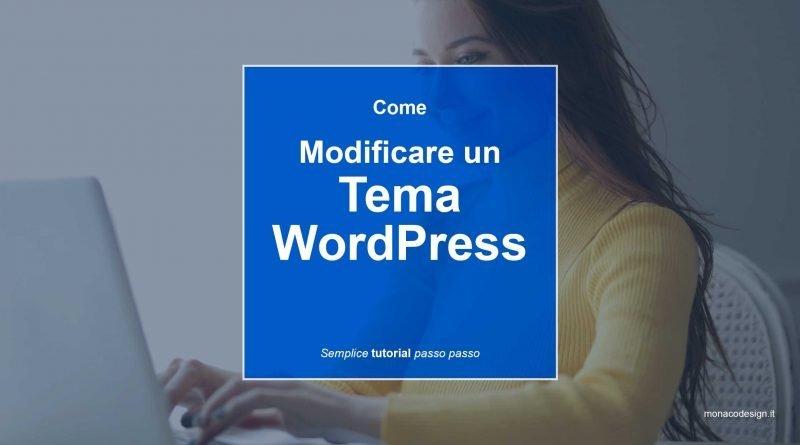 Modificare WordPress
