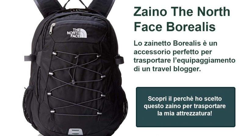 Zaino the North Face un ottimo accessorio per fare il Travel Blogger