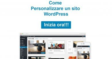 Personalizzare WordPress