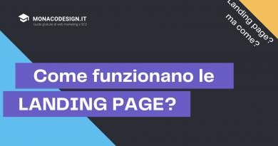 Come funzionano le landing page