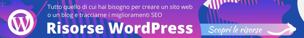 Risorse per costruire una landing page in WordPress