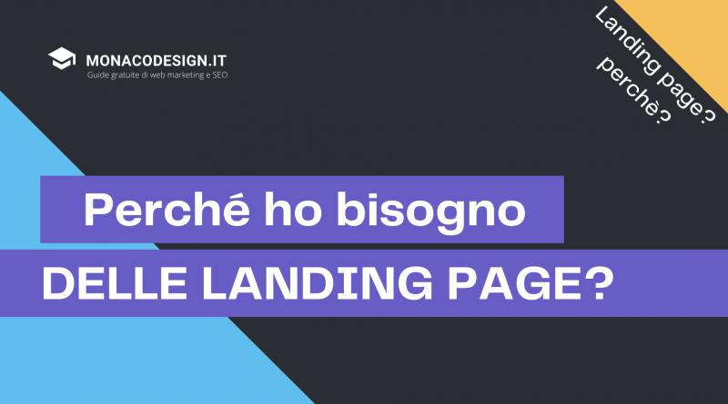 perché ho bisogno di una landing page