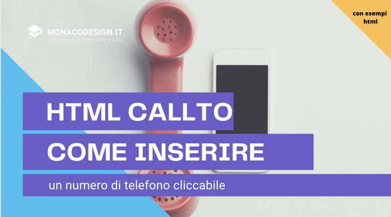 html callto