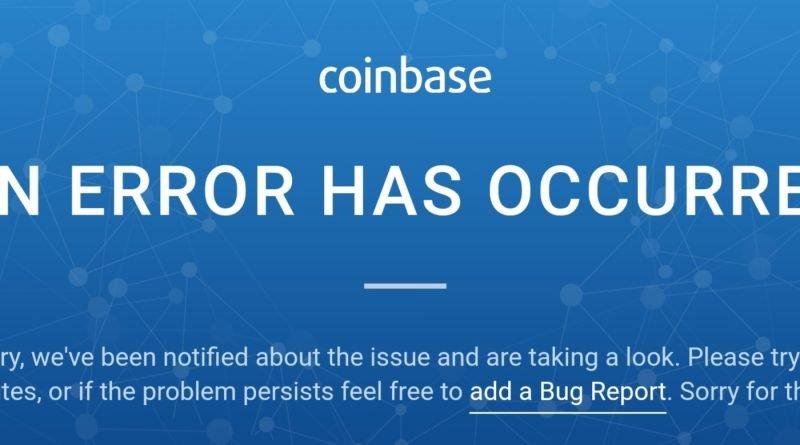 Coinbase in crash troppi utenti acquistano Bitcoin