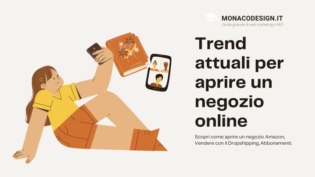 Nuovi trend per aprire un negozio online