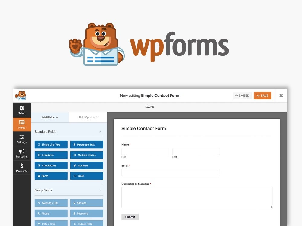 Wpforms WordPress